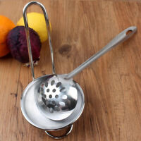 Metal Standing Spoon Rest with Removable Bowl Kitchen Counter Storage A