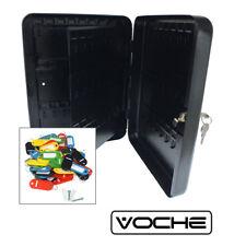 VOCHE®96 Hook Wall Mountable Steel Lockable Cabinet & Key Fobs Security Case Box