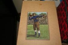 2005 Benny Friedman Goal Line Art Card Cleveland Bulldogs / Giants / Michigan