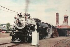Spokane Portland & Seattle Locomotive Union Station OR - Railroad Train Postcard