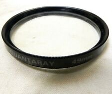 Quantaray UV Protection 49mm Lens Filter Made in Japan