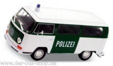 Furgoneta VW t2-modelo 1:24 - policía-nuevo & OVP