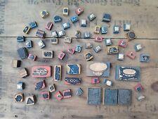 Lot de tampon encreur ecole ecolier art plastique scrapbooking