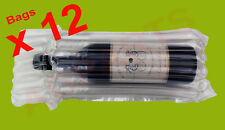 INFLATABLE AIR PACKAGING  PROTECTIVE  BUBBLE PACK  WRAP BAG FOR WINE BOTTLE X 12