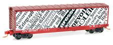Nib N Mtl #03800460 50' Plug Door Boxcar Canadian National #401527