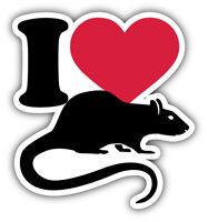 "FREE SHIPPING!! Sticker 2Pcs type 2 1.5/"" Union /""No Rats/"""