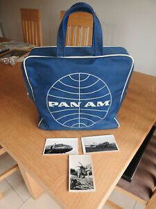 Vintage Pan Am Airlines carry on bag