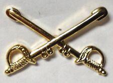 CROSSED SWORDS LAPEL PIN HAT TAC NEW