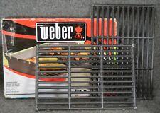 Weber 7638 Porcelain-Enameled Cast-Iron Cooking Grates (Set of 2)