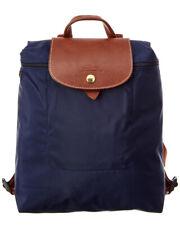 Longchamp Le Pliage Nylon Backpack Women's Blue