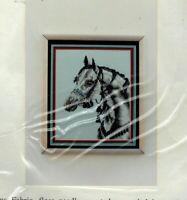 Vintage Pegasus Originals Counted Cross Stitch Kit Arabian Horse Head Study