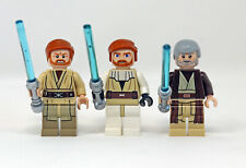 Lego Star Wars Obi-Wan Kenobi minifigure lot New Hope Revenge of Sith Clone Wars