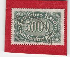 DEUTSCHES REICH (9110) MI NR 256 b GESTEMPELT (NEU GEPRÜFT) INFLA Weinbach