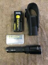 Nitecore flashlight srt7gt-USED