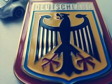 Vintage DEUTSCHLAND ALLEMAGNE insigne embleme badge pour Porsche BMW merceded VW Audi