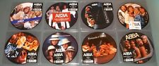 "ABBA 8x 7"" PICTURE DISC VINYL Lot QUEEN KNOWING MONEY FERNANDO WATERLOO CHANCE"