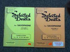 Rubank Selected Duets Saxophone Volume I & II