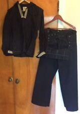 VTG Mens US Navy Military Sailor Uniform JUMPER BLUE DRESS WOOL Size 40R Vintage