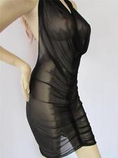 Cowl Dress  SHEER Lycra Festival  Dancer osfm ZanzaDesigns Clothing NWT
