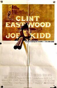 Joe Kidd US original One Sheet movie poster