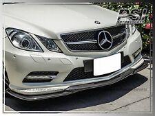 GH Style Carbon Fiber Front Bumper Lip For 2010-2013 C207 E250 E350 E550 Coupe