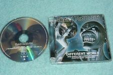 Iron Maiden DVD-Single Diferentes World incluye recuerdo cartel 2007 calendario