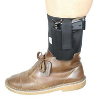 Concealed Carry Ankle Holster for Subcompact Compact Pistols Right Left Use