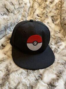 NEW POKÉMON Pokéball Baseball Cap Hat Adjustable Navy