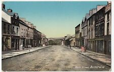 Ireland; Donegal, Main St, Buncrana RP PPC, 1913 Local PMK, Sold By Post Office