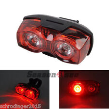 Schrödinger10025  RAYPAL 2 x LED Bicycle Cycling Cycle Rear Tail light Red