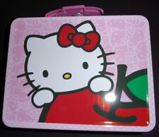 Hello Kitty Tin Lunch Box carry-all for school supplies