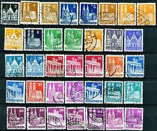 Germany Issues of 1948 Set of 45 Postally Used All Scott's Except 634a & 648a