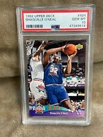 SHAQUILLE O'NEAL⚡️1992-93 Upper Deck All-Star Rookie #424 PSA 10 GEM MINT🔥HOT