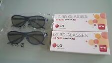 LG AG-F310 + F220 3D Brillen Clips Combo Pack NEU (ähnlich LG AG-F314)