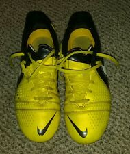 Girls Size 5.5Y - Nike - Shoes, Athletic Sneakers, spikes. Yellow,(3c)