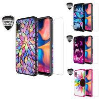 For Samsung Galaxy A10e Case, SM-A102U, Slim Hybrid Dual Layer Shockproof Cover