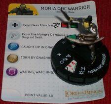 Moria Orc Guerrier 017 Communauté De Bague Heroclix