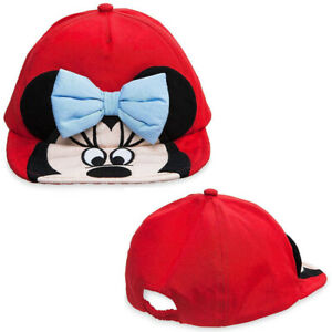 Disney Minnie Mouse Swim Hat Baseball Swim Cap for Baby Size 12-18 Months Red