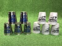 Set Of 5 Speed Stacks Stainless Weighted Competition Training Cups Super WSSA