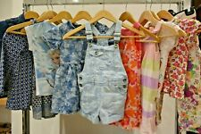 3-4 years Girls Summer Clothes Bundle Blue Denim Pink H&M