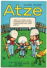 DDR ATZE Heft 10/1976 FDJ Verlag Junge Welt Fix und Fax *AZ55