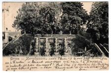 1899 Germany printed postcard - Gruss aus Herrnhausen