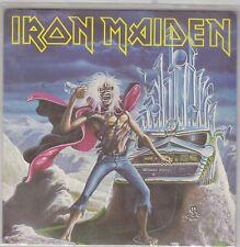 """IRON MAIDEN - run to the hills / phantom of the opera 7"""" UK press"""