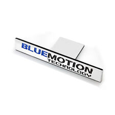 1 Ps Bluemotion Technology Alloy Label Emblems Front Grill Badge Sticker For All