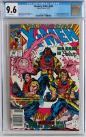 NEWSSTAND EDITION CGC 9.6 White Pages WP Uncanny X-Men #282, NEW CASE!