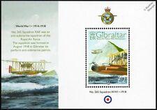 RAF No.265 Squadron FELIXSTOWE F.3 WWI Flying Boat Seaplane Aircraft Stamp Sheet