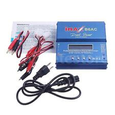 iMAX B6 AC Digital LCD RC Lipo NiMh NiCD Battery Balance Charger ACDC Blue K5Q0