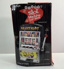 Buzzy, Giant Slot Machine Coin Bank