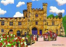 BATTLE ABBEY OPEN EDITION PRINT BY MICHAEL PRESTON