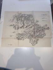 1885 County Mayo Ireland Map Ordnance Survey Office Boundary Commissioner